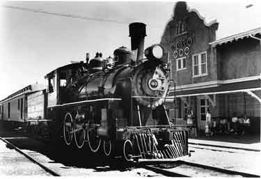 Locomotive 40, pride of the Nevada Northern Railway