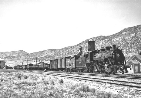 81 on June 3,1946 ready to depart East Ely with revenue freight