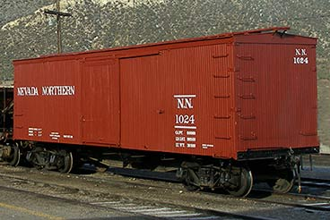 Boxcar 1024, literally as good as new after over 100 years of service