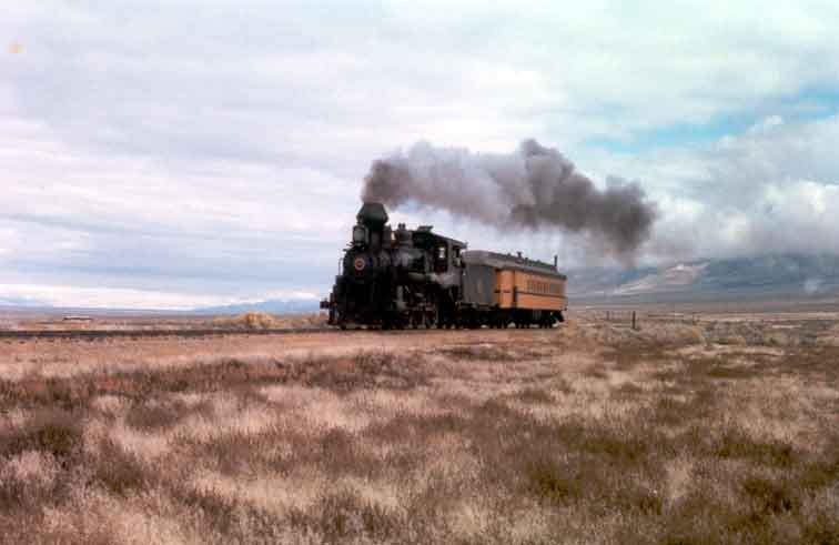 Once Upon a Texas Train, filmed on location at the Nevada Northern Railway