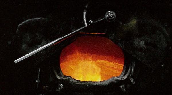 Correct, this is your oven!  Otherwise known as the firebox of a real, working, coal-fired steam locomotive