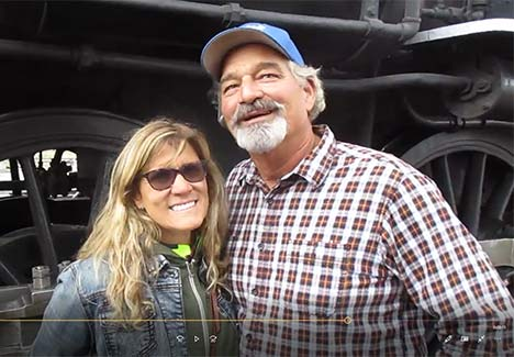 This couple drove from California to share the engineer experience together 		<br><a href='https://youtu.be/sqU5u23cZTQ' target='_blank' <em>Click here to view the complete interview</em>