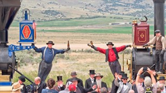 Golden Spike Reenactment