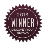 Discover Your Nevada Award 2013